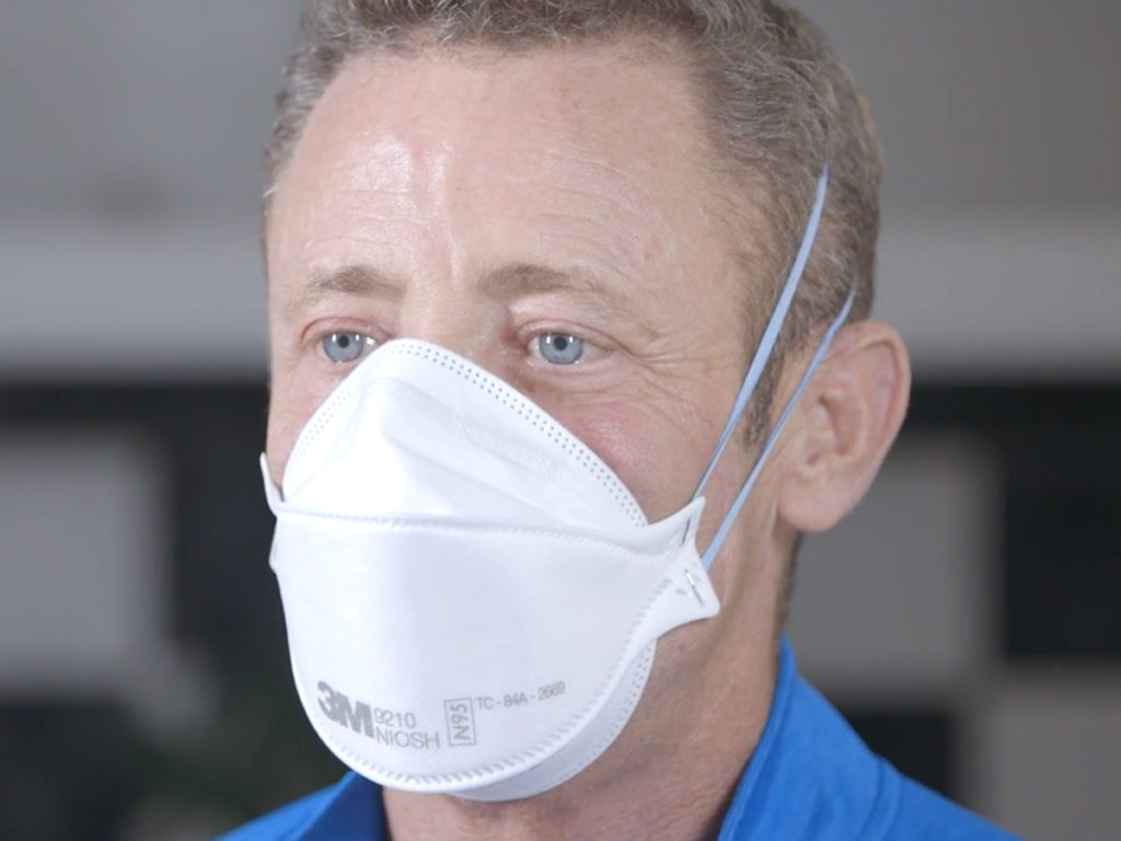 Cystic Fibrosis Wind Sprint 55: Using a Medical Mask