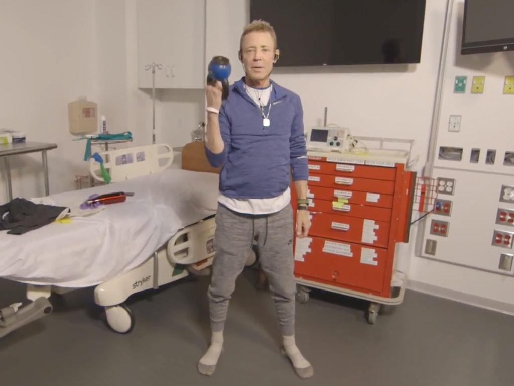 Cystic Fibrosis Wind Sprint 60: Extended Hospital Stays and Total Body Workouts
