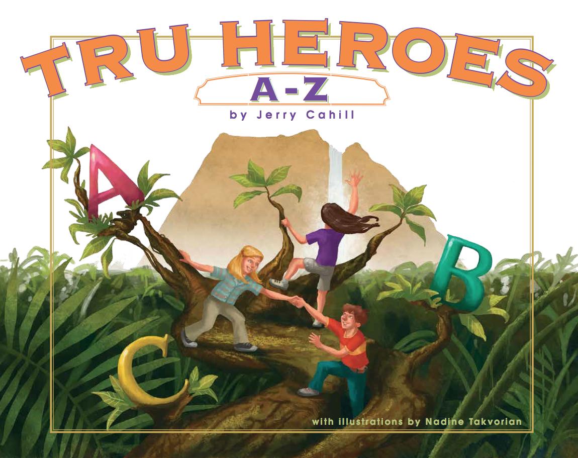 Tru Heroes A-Z Children's Book