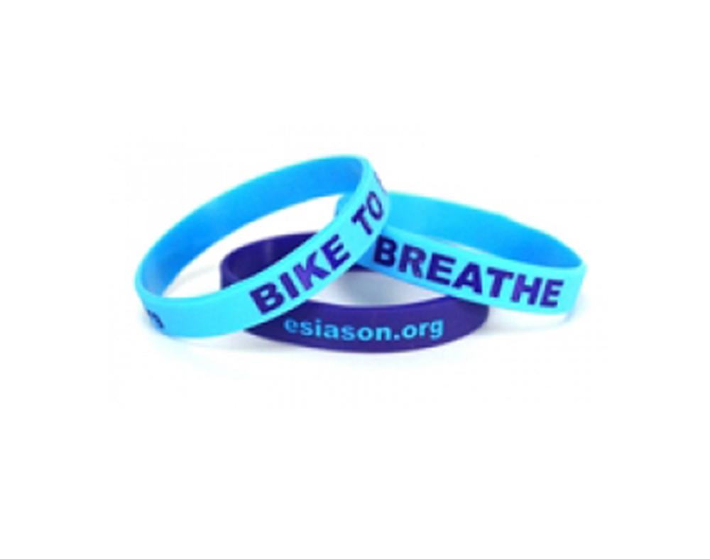 Bike 2 Breathe Wristband