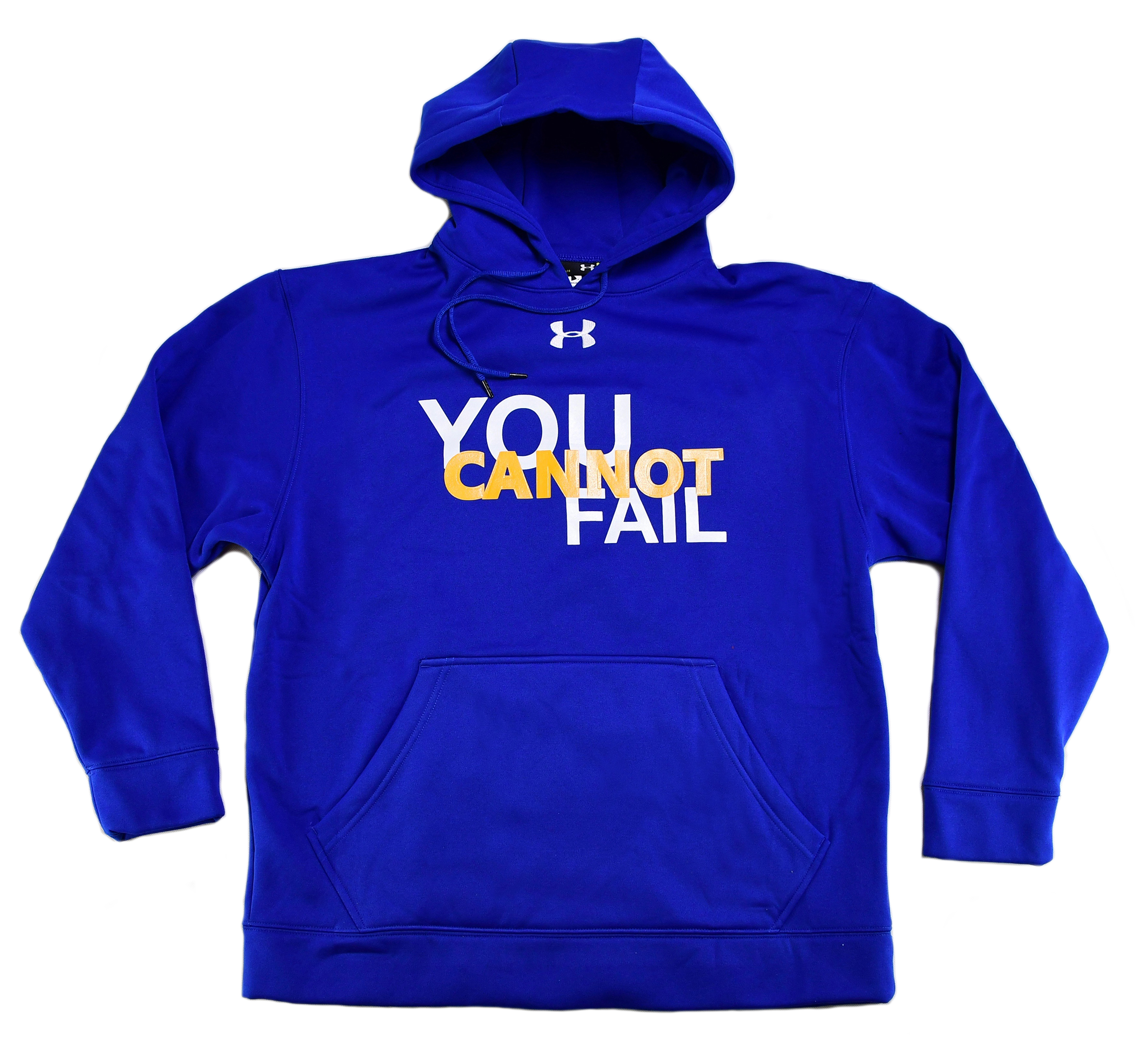 Under Armour® You Cannot Fail Hoodie - Available in Grey, Black, and Blue