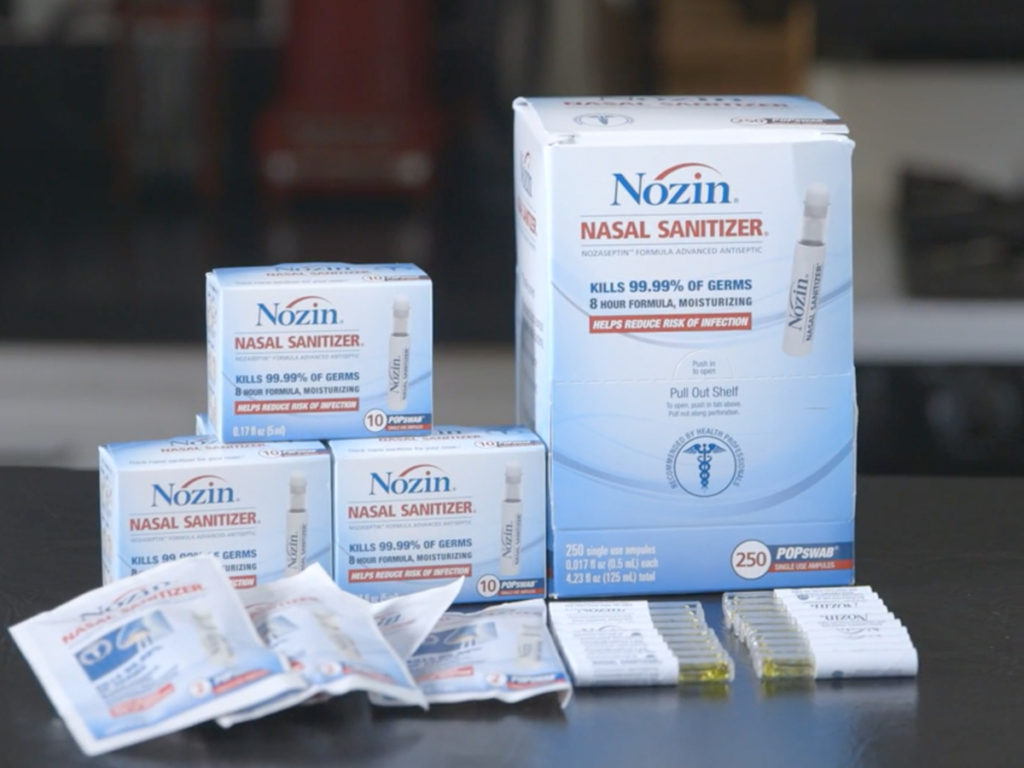 Cystic Fibrosis Wind Sprint 53: Keeping your nasal passages clear with Nozin