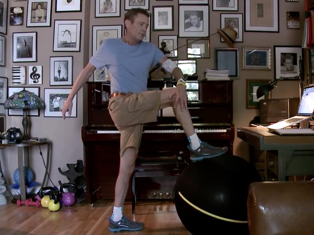Cystic Fibrosis Wind Sprint 46: Fitting in Fitness with an Exercise Ball
