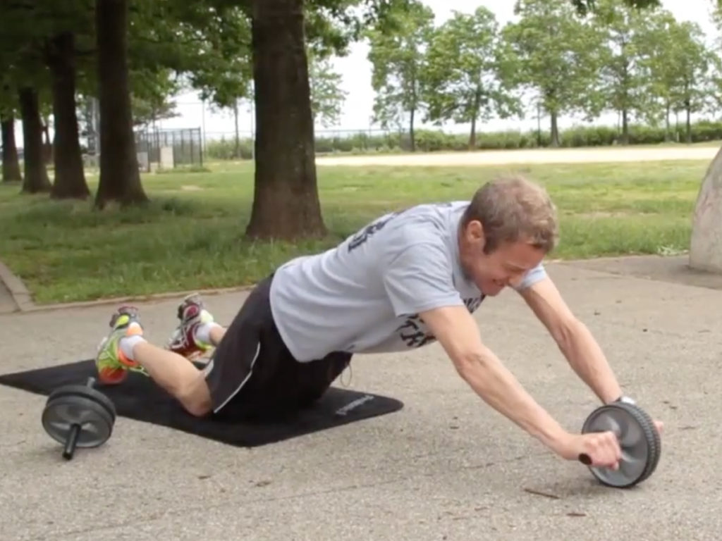 Cystic Fibrosis Wind Sprint 35: Outdoor Exercises for Core