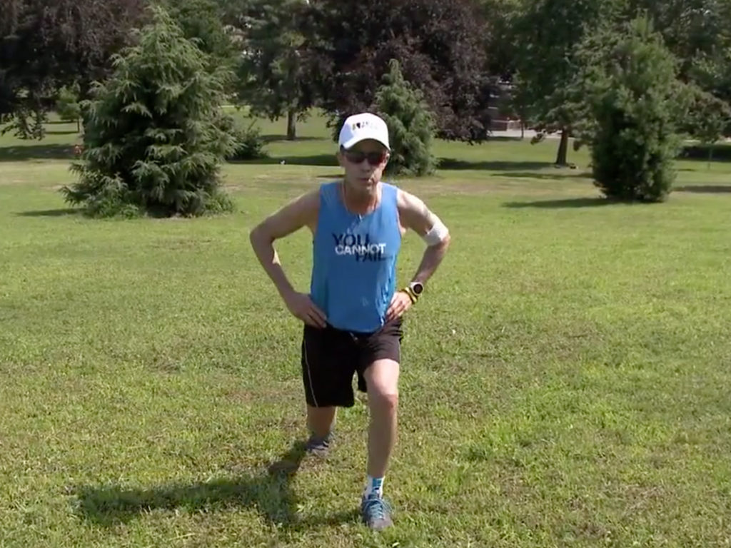 Cystic Fibrosis Wind Sprint 43: Walking and Jogging Hills for Endurance and Strength