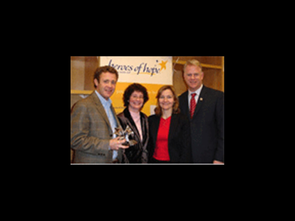 Heroes of Hope Award - Living With CF