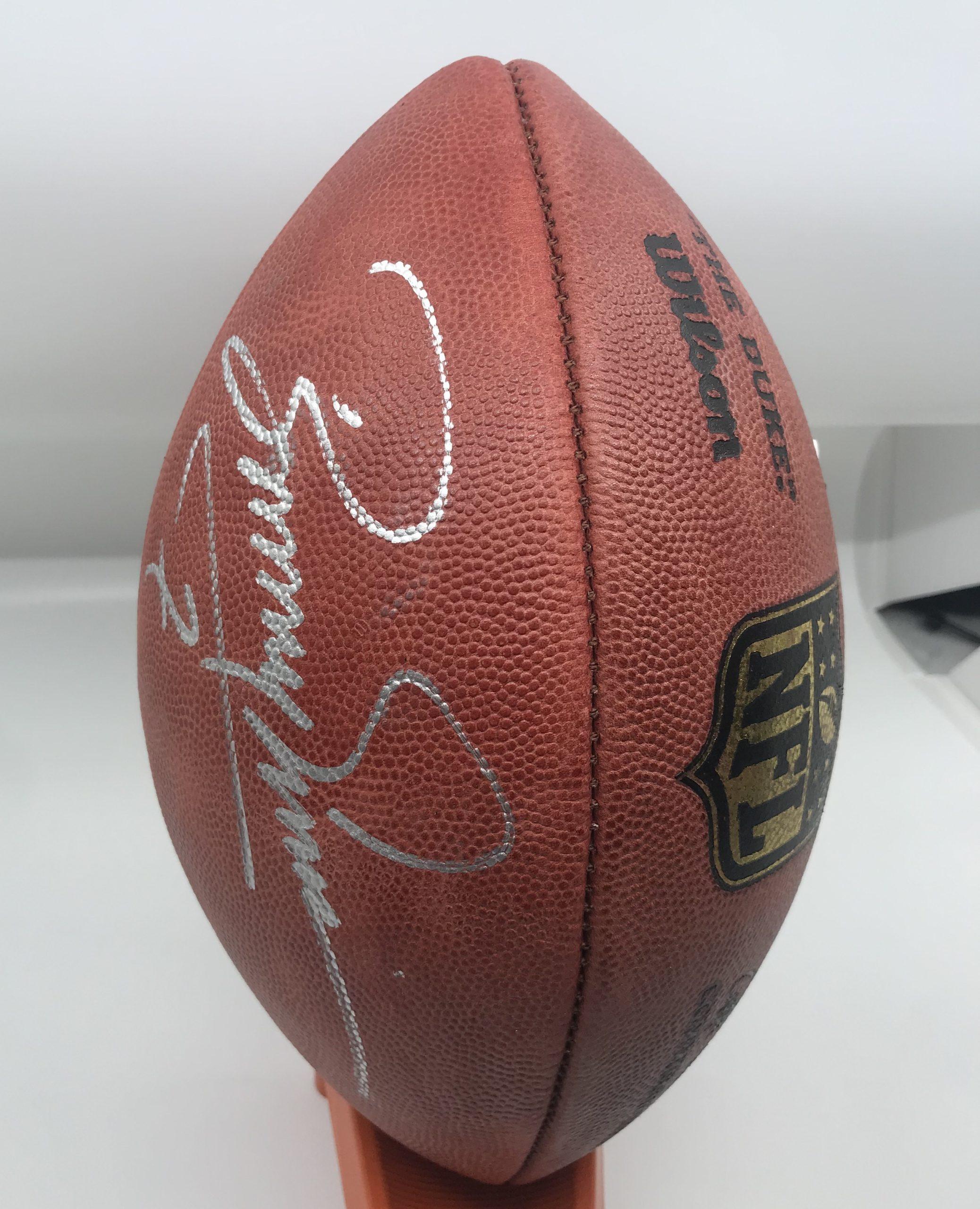 Boomer Esiason Autographed NFL Proline Football